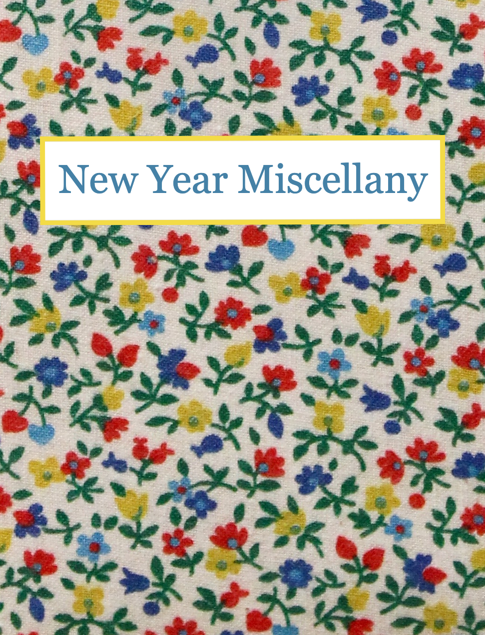 New Year's Miscellany - Religion, Women's Studies, Children's Books, Fine Printing and More