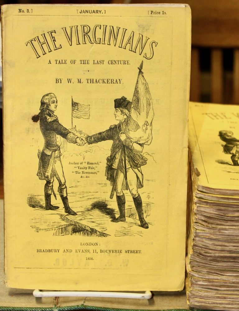 The Virginians, a Tale of the last Century. William Makepeace Thackeray.