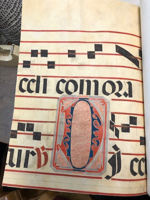 A Monograph on the Italian Choir Book. With an original illuminated initial from an Italian Gradual of the Sixteenth Century. H. C. Schulz.