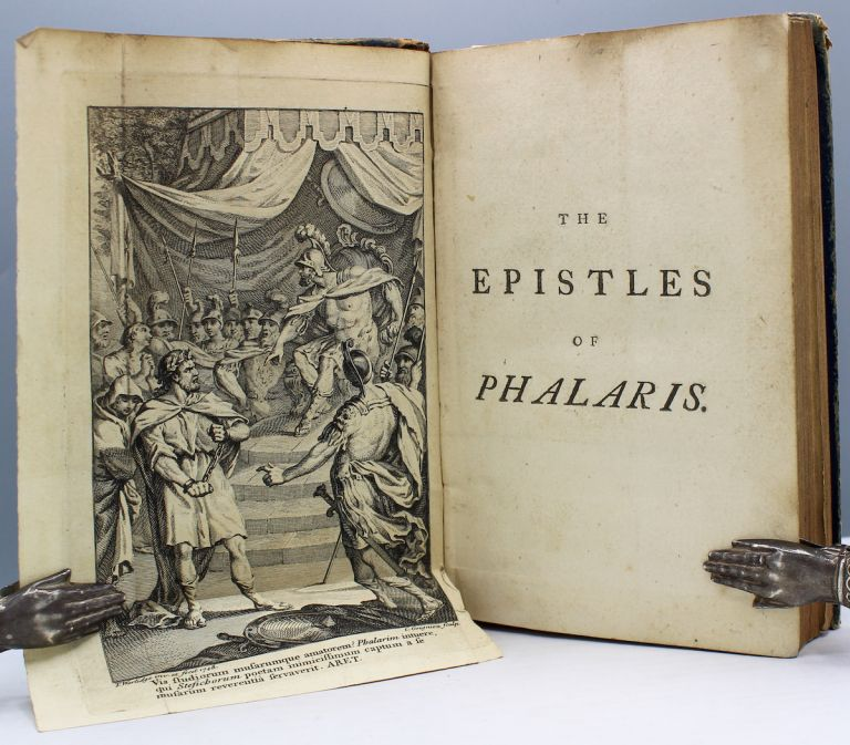 The Epistles of Phalaris. Translated from the Greek. To which are added, some select epistles of the most eminent Greek writers. By Thomas Francklin. Phalaris.
