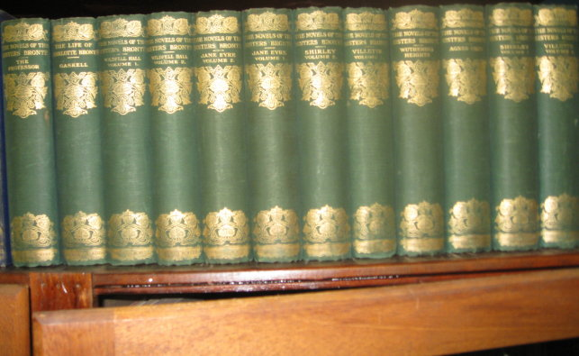 Novels of the Sister Bronte. Edited by Temple Scott. Charlotte Bronte, and Anne, Emily.