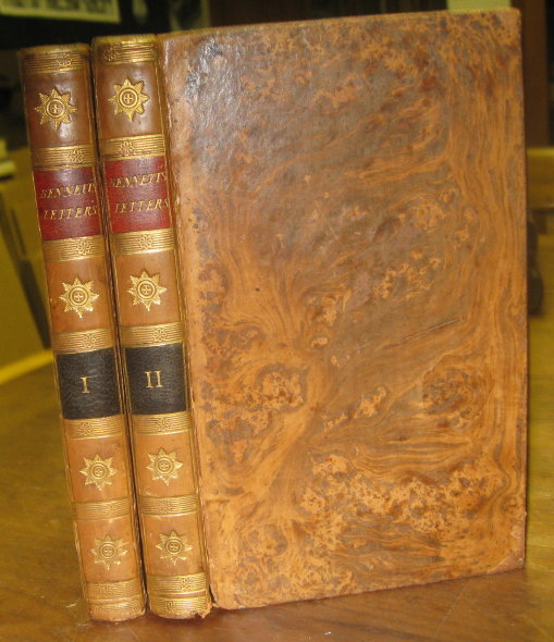 Letters to a Young Lady, on a Variety of Useful and Interesting Subjects, Calculated to Improve the heart, to form the manners, and enlighten the understanding…The Third Edition. John Bennett.