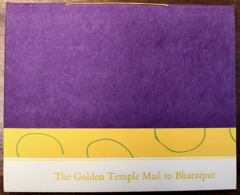 The Golden Temple Mail to Bharatpur. Susan Allix.