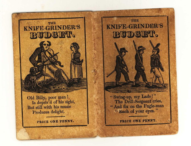The Knife-Grinder's Budget of Pictures & Poetry, for Boys and Girls. Children's Books.