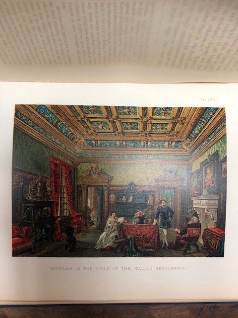Art in the House. Historical, Critical, and Aesthetical Studies on the Decoration and Furnishing of the Dwelling. Authorized American Edition, Translated from the German by Charles C. Perkins, M.A. Jacob Von Falke.