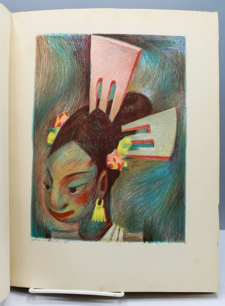 Picture Book. 32 Original Lithographs by Jean Charlot. Inscriptions by Paul Claudel. Translated onto English by Elise Cavanna. Jean Charlot.