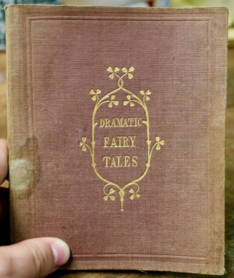 Two Fairy Tales, Arranged in a Dramatic Form. By a Lady. Children's books.