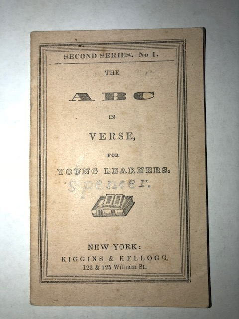 The ABC in Verse, for Young Learners.