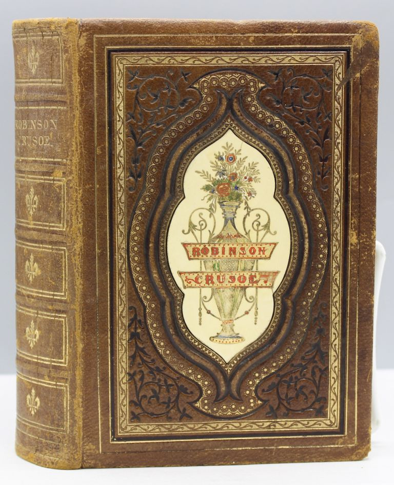 Robinson Crusoe. With a biographical introduction by Henry Kingsley. The Globe Edition. Bindings, Daniel Defoe.