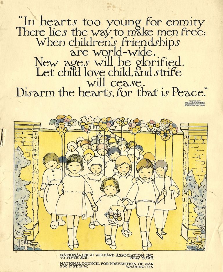 Children from Many Lands. [A series of ten posters]. Mary S. Haviland, Fanny L. Warren.
