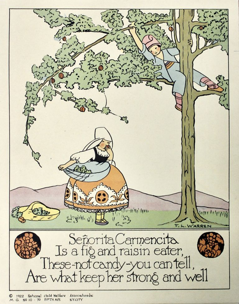 [ Nursery Rhymes for Healthy Habits Posters..]. Mary S. Haviland, Fanny L. Warren.