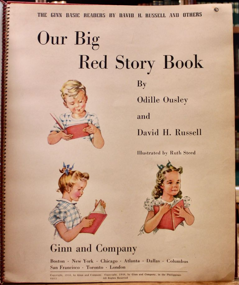 Our Big Red Story Book. Illustrated by Ruth Steed. Odille Ousley, David Russell, arris.