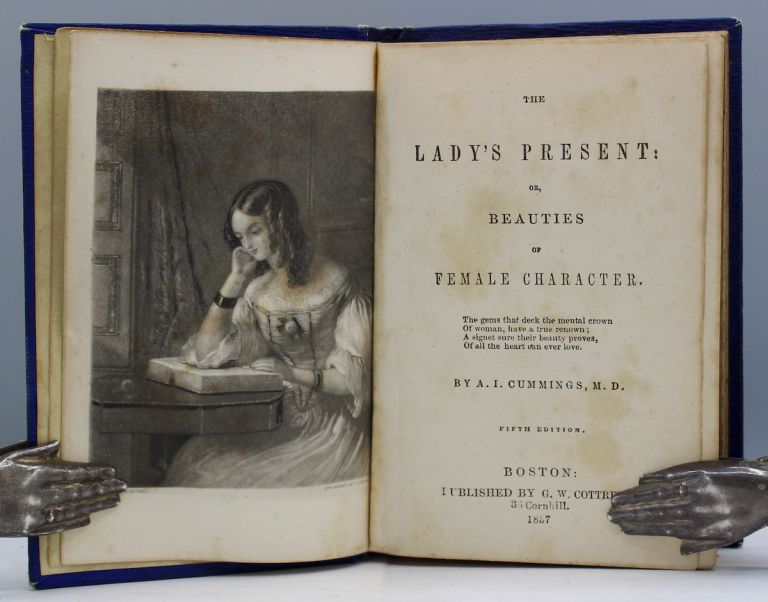 The Lady's Present: or, Beauties of Female Character. Cummings, riel, vers.