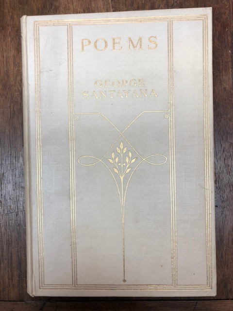 Poems. George Santayana.