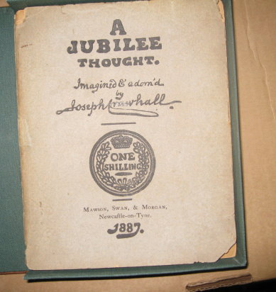 A Jubilee Thought. Imagined & adorn'd by Joseph Crawhall. Joseph Crawhall.