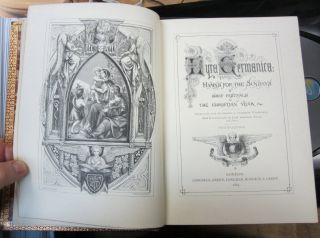 Lyra Germanica: Hymns for the Sundays and Chief Festivals of the Christian Year. Translated from the German by Catherine Winkworth. With illustrations by John Leighton, F.S.A. Fourth Edition.