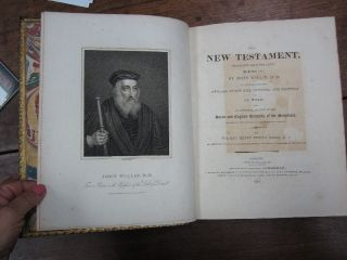 The New Testament, translated from the Latin, in the year 1380, by John Wiclif, D.D. to which are prefixed, memoirs of the life, opinions, and writings of Dr. Wiclif; and an historical account of the Saxon and English versions of the Scriptures, previous to the opening of the fifteenth century, by the Rev. Henry Hervey Baber, M.A.