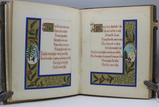 The Songs and Ballads of Shakespeare. Illuminated by T[homas] W. Gwilt Mapleson, Esq.