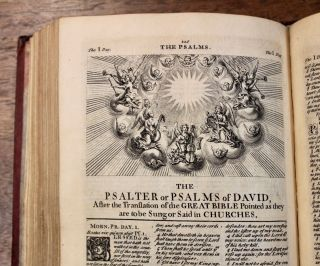 The Book of Common Prayer and Administration of the Sacraments and Other Rites and Ceremonies of the Church. According to the Use of the Church of England. Together with the Psalter or Psalms of David. Pointed as they are to be Sung or Said in Churches.