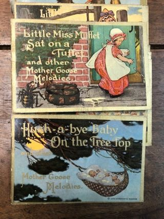 Mother Goose Melodies Toybooks.