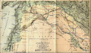 Bedouin Tribes of the Euphrates. Edited, with a Preface and Some Account of the Arabs and Their Horses by W[ilfrid] S[cawen] B[lunt]. Maps and Sketches by the Author.