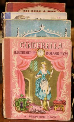 Cinderella. A Peepshow Book. [Boston: Houghton Mifflin Company,] 1950. [With:] Ionicus,...
