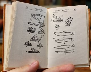 A Treatise on Pocket Knives.
