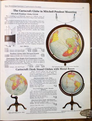 The New Denoyer-Geppert Catalogue No. 6, 1928-1930. Maps, Charts, Specimens, Globes [etc.] ...for the more effective teaching of geography, history, biology.