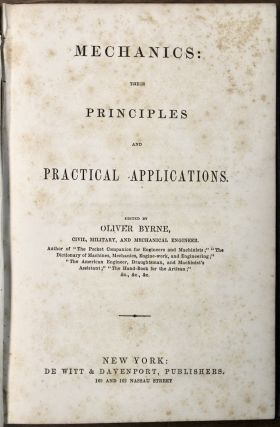 Mechanics: Their Principles and Practical Applications.