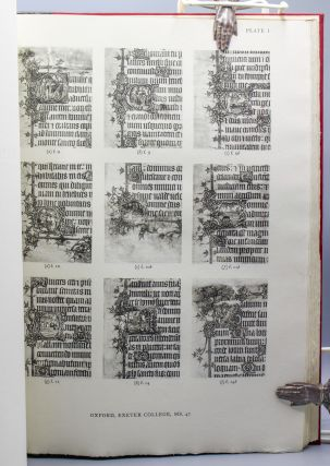 The Bohun Manuscripts: A Group of Five Manuscripts Executed in England About 1370 for Members of the Bohun Family…with an introductory note on the group by Eric George Millar.
