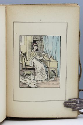 Our Grandmothers' Gowns. With Twenty-Four Handcolored Illustrations Drawn by George R. Halkett.