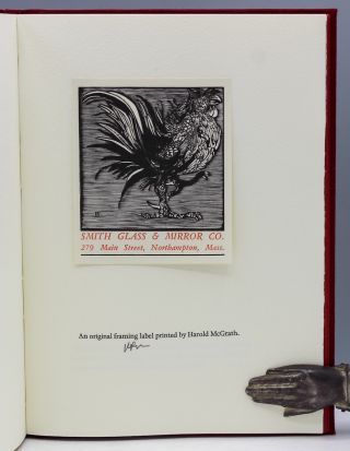 Smitty's Cocks. Eight Woodengravings...Drawn & Carved for the Use of Smith Glass, 1955 - 1974...Introduction by Carol J. Blinn.