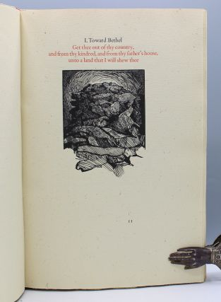 Thistles and Thorns: Abraham and Sarah at Bethel. With Wood Engravings by Barry Moser.