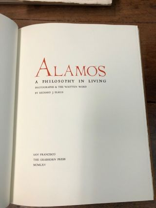 Alamos: A Philosophy in Living.